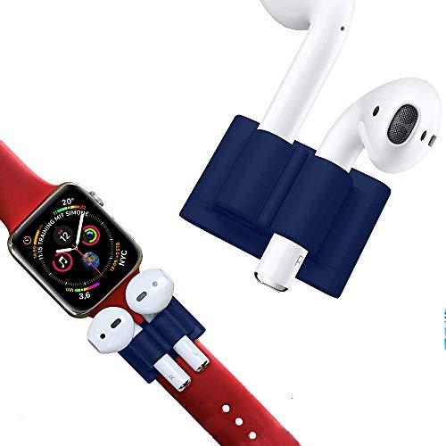 Supporto per AirPods & Apple Watch Bracciale di DnA Tech – Morbido silicone – Anti Lost Holder – Ideale per lo sport o nel tempo libero.