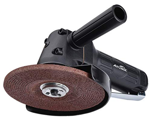 Angle Grinder, 5-Inch Air Angle Grinder by Autolock, Pneumatic Angle Grinder