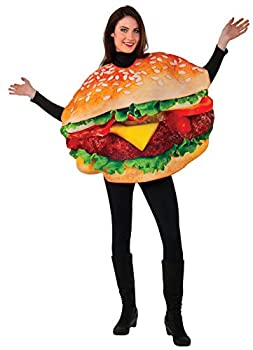 Rubie s Men s Burger Costume Multi One Size