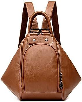 Asdssry Women's Fashion Convertible Backpack Purse