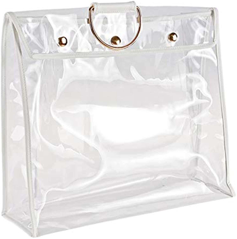 Organizer Dustproof Handbag Transparent Dust Bag with Magnetic Snap