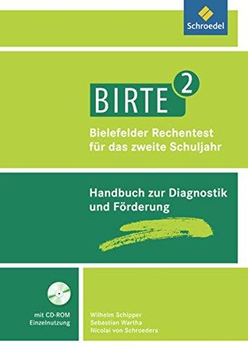BIRTE 2 - Bielefelder Rechentest für das 2. Schuljahr: Handbuch mit CD-ROM