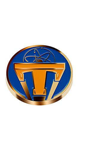 Disney's Tomorrowland Metal Lapel Pin Style 2