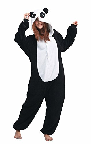 Cute Panda Bear Onesie Pajamas