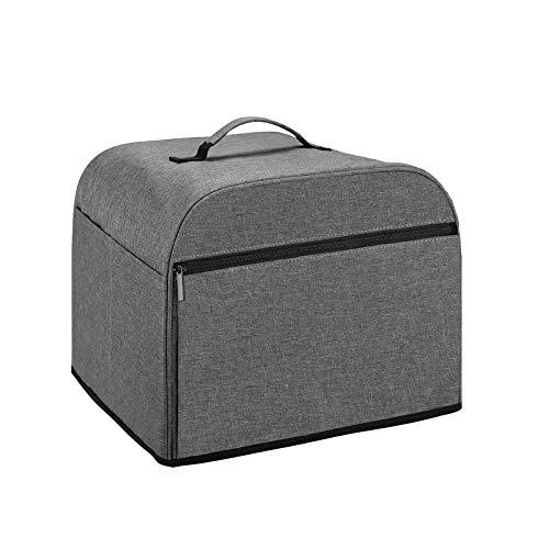 Yinuoday Toaster-Abdeckung, elektrischer Ofen-Abdeckung mit Seitentaschen, Toaster-Staubschutz für Küche, Elektroherd, Brot-Ofen