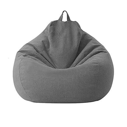 Cratone Funda de Puff Pera Puff Salon para Adultos y Niños Infantiles Bean Bag Funda de sofá Silla sin Relleno para Perezosos