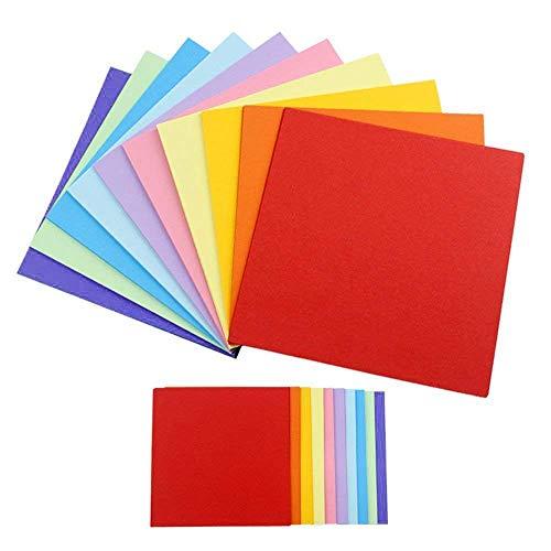 Kopierpapier in Pastellfarben, Buntpapier Farbigen A4 Kopierpapier Papier, Regenbogenfarben, Druckerpapier, Basteln Gestalten Dekorieren Zuschnitt-Papier 96 Blatt