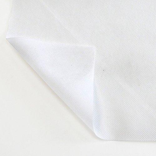 50m WIGOFIL Spannvlies 80 g/m2 Polsterstoff Textil in Weiß Stoff Spannstoff