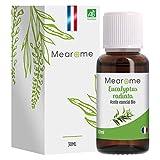 PLASTIMEA - Aceite Esencial Puro 100% Natural y Bio, Para Humidificador Ultrasónico Aromaterapia, Fabricado en Francia, Aroma Eucalipto Radiata, 30ml