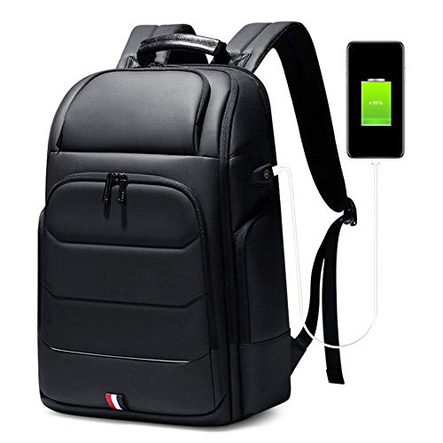 ビジネスキャリーオントラベルノートパソコンのバックパック拡張可能なバックパックメンズビジネス多機能短い旅行トラベルバッグ用15.6インチコンピューターバッグ大容量のバックパック