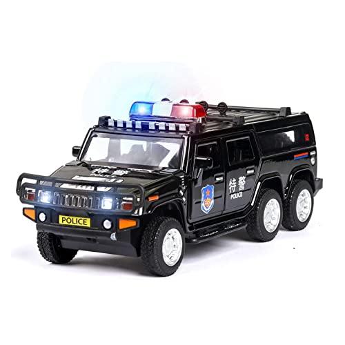Fábrica Original 1:32 For Mercedes-Benz G500 Todoterreno Convertible Aleación Modelo De Coche De Policía Niño Colección Decoración Regalo Coche De Juguete (Color : 1)