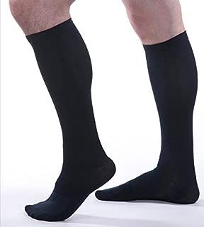 Allegro Men's 15-20 mmHg Essential 103 Ribbed Compression Support Socks