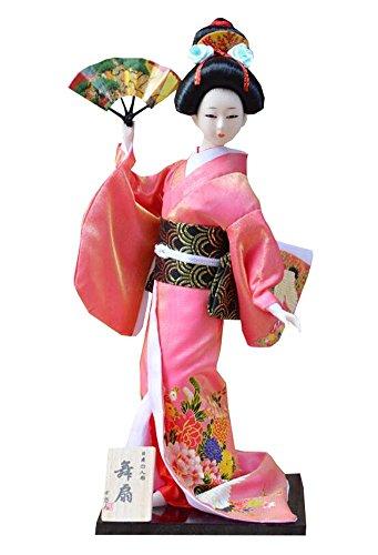 Black Temptation Home-Dekorationen Geisha-Puppen im schönen Kimono