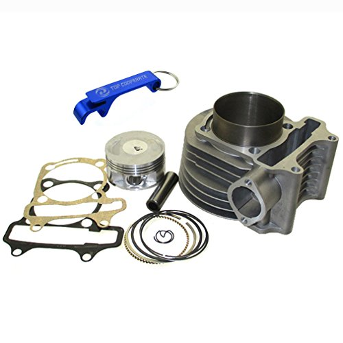 TC-Motor 180cc Cylinder 61mm Big Bore Kit For GY6 125cc 150cc 1P52QMI 1P57QMJ Engine Scooter Moped ATV Quad