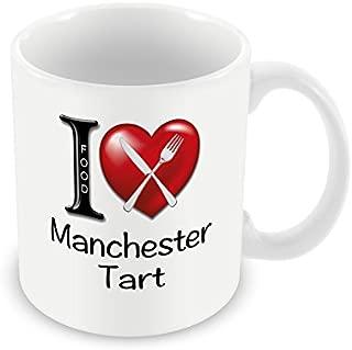 Chalkhill Printing Company CP 520 Food Mug-I Love Manchester Tart