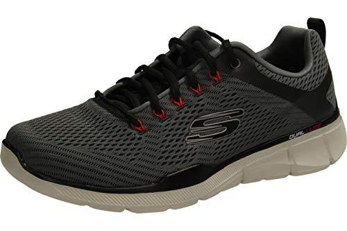 Skechers Men's Equalizer 3.0 Oxford, Charcoal/Black, 14 M US