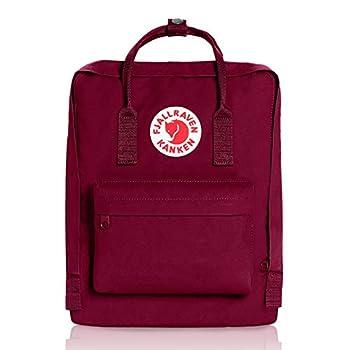 Fjallraven Kanken Classic Backpack for Everyday Plum