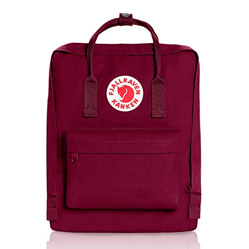 Fjällräven 23510-420 Kånken Unisex Lightweight Outdoor Hiking Backpack 13.0 x 27.0 x 38.0 cm, 16 Liter Plum