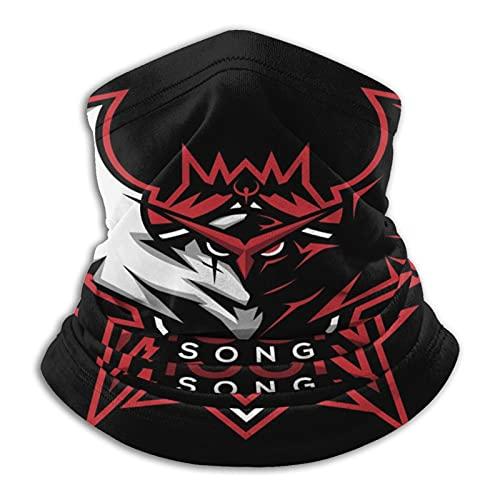 Moon Song - Bandana unisex para la cabeza, para exteriores, protección UV, pasamontañas, polvo, resistente al viento, polainas para el cuello, para deportes, multifuncionales, para la cabeza