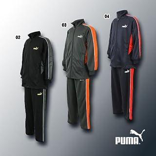 PUMA ジュニア用 少年用上下セットウォームアップシャツ ジャージ 品番:825206