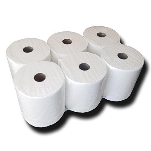Hygienical-Handtuchrollen, Top-Handtuchpapier, Papierhandtücher, Handtuch-Papierrollen, Handtuchrollen 2-lagig, 140 m