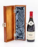 Châteauneuf-du-Pape Red Wine in Wooden Wine Gift Set | Famille Perrin 'Les Crus', Les Sinards' Vintage 2017 (1x
