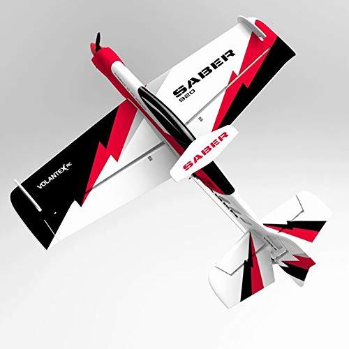 MIAOGOU Avión Modelo Volantex Sabre 920 756-2 EPO 920mm Envergadura 3D Aviones Acrobáticos RC Avión Kit / Pnp RC Juguetes