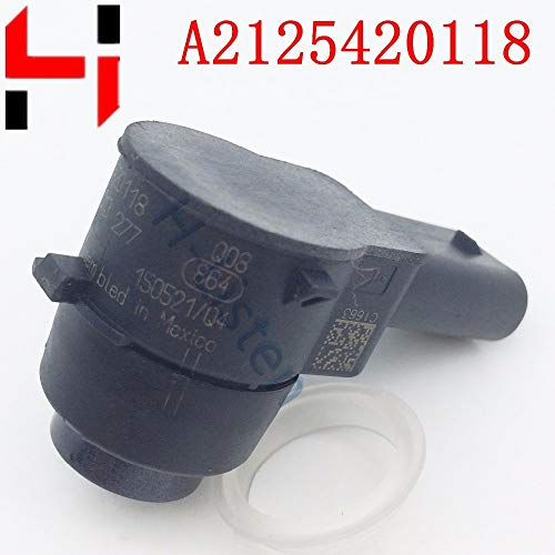 New Red : (4pcs) Parking PDC Sensor A2125420118 2125420118 Reversing Radar Fora B C E S CLS Class C2...