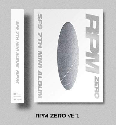 K-POP SF9 - RPM, RPM Zero Version Cover Incl. CD, 84pg Photobook, On Pack Poster, Concept Photocard, Selfie Photocard, ID Card, Folded Poster, Extra Photocards Set