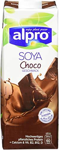 Alpro Soya Drink Choco, 8er Pack (8 x 1 l)