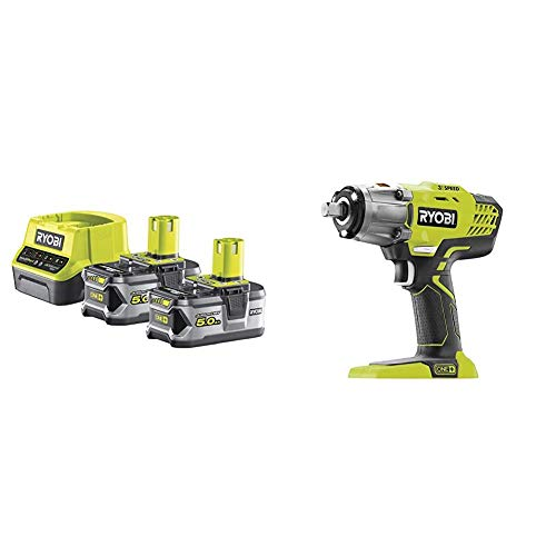 Ryobi 5133003364Pack Chargeur 1h + 2batteries...