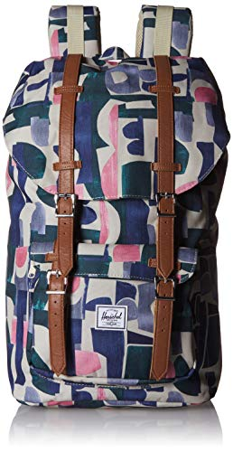 Herschel Little America Backpack with Laptop Sleeve, Navy/Navy, Classic 25L