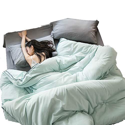 QUILT Soja-Faser, Bettwäsche All Season Decke mit Corner-Taste, Ultra Soft hypoallergene Bettwäsche Medium Wärme, Quilting Prozessdesign (Größe : 180 * 200cm(3kg))