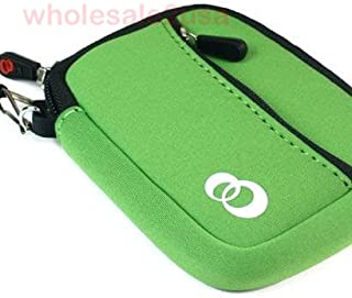- Green High-Quality Mini Sleeve Pouch Bag *LOOSE FIT* for Sony Cyber-shot DSC-W710 DSC-W730 DSX-WX80 Fuji Film FinePix JX650 Canon PowerShot ELPH 115 IS Blue Silver Canon PowerShot SD780IS Digital Camera Red {+ 1pc name tag} -- Best Seller on Amazon!