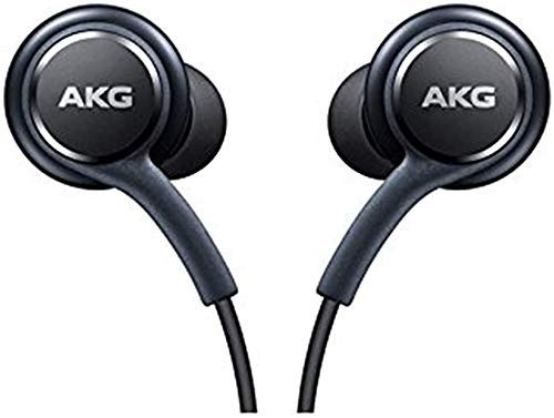 UrbanX Stereo Headphones w/Microphone for Samsung Galaxy S8 S9 S8 Plus S9 Plus Note 8 - Designed by AKG - 100% Original
