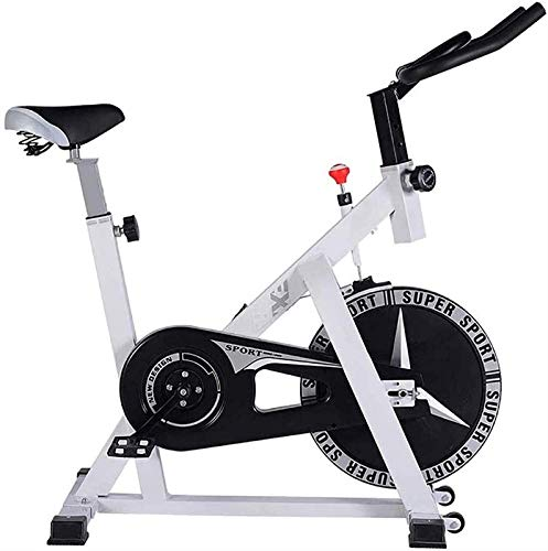 Qianglin Bicicleta de Ejercicios, Bicicleta de Ciclismo Interior estacionaria, con cómodo Manillar Ajustable para el hogar para el Entrenamiento de Cardio