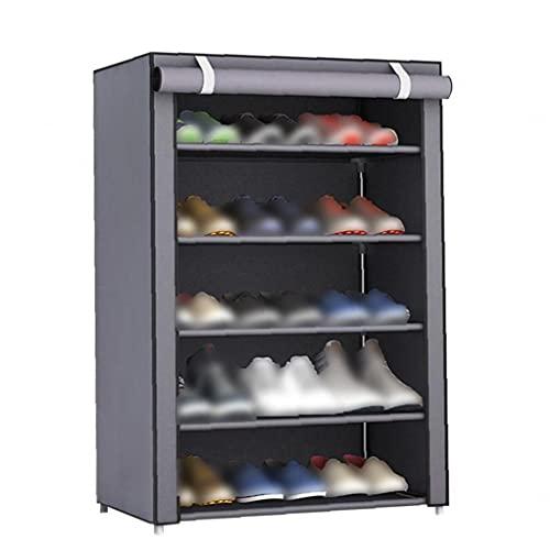 Scarpe Tessuto Rack Scarpe antipolvere Organizzatore Camera Dormitorio scarpe scarpiere mensola mobile...