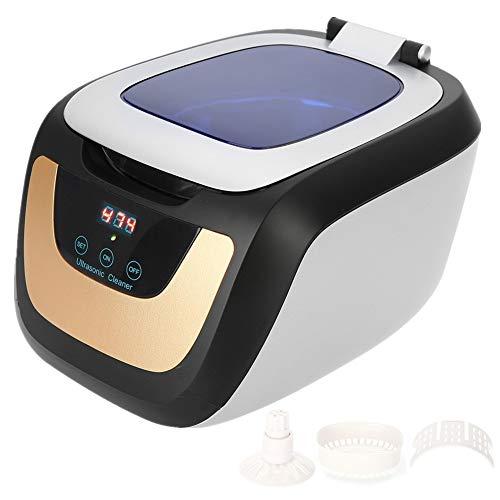 Ultraschallreiniger, Mehrzweck-Sterilisator 750ML mit digitalem Timer, der Reinigungsmaschine für Schmuck, Uhr, Brille Sonic Wave Manicure Nail Tattoo Metal Tool desinfiziert
