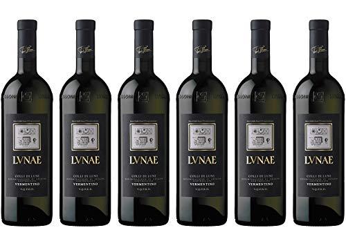 CANTINE LUNAE BOSONI ETICHETTA NERA Vino bianco Vermentino BOTT 75 CL- IMBALLO DA 6 BOTTIGLIE DA 75 CL