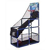 Kids Basketball Circle Arcade Game, Outdoor/Indoor Basketball Shooting Machine with 2 Basketball and Pump for Boys Gift (A, Multicolor)