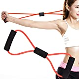 Resistance Bands, Chest Expander Muscle Exerciser for Men Women 8-Shaped Tensioner Stretch Band...