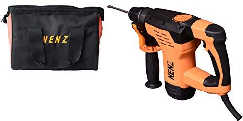 NENZ NZ30-02 Demolition Drill SDS-plus Electric Lightweight Concrete Breaker,AC Jack hammer,Orange
