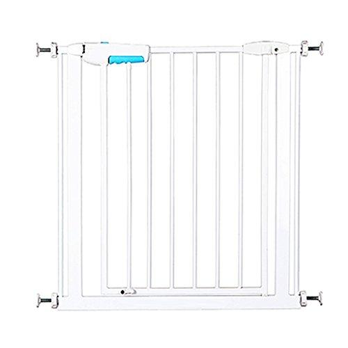 Barrière de sécurité Portes de sécurité intérieures montées sous Pression de Porte étroite de bébé pour Le Blanc Facile Facile 57-73cm de Large de Porte de Hall d'entrée (Taille : 65-73cm)