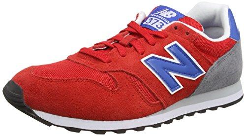 New Balance Herren Ml_wl373v1 Low-Top, Rot (Red/Blue), 43.5 EU