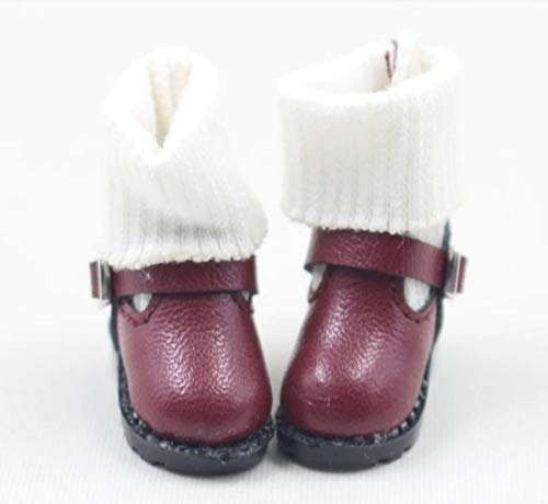 Studio one 1 Pair Cute Boot Shoe for Blyth ICY licca Joint Body Azone 1/6 Doll 30 cm Doll