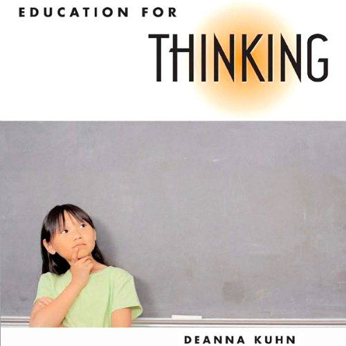 Education for Thinking  By  cover art