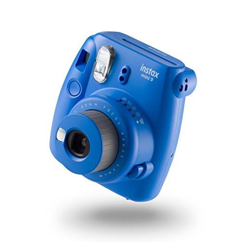 Fujifilm Instax Mini 9 - Cámara instantánea, Cámara con  10 películas, Azul Marino