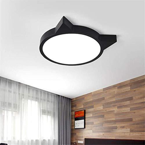 YB plafond licht Scandinavische minimalistische slaapkamer lamp zwart Tone Cat Lamp ?Star Designer stijl moderne kamer studielamp