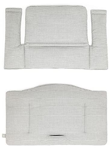 Tripp Trapp - Cojín clásico para trona Tripp Trapp, para bebés y niños, color gris