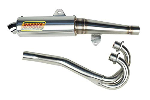 Sparks Racing X-6 Stainless Steel Race Core Full Exhaust compatible...
